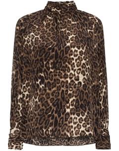 Блузка Alana с леопардовым принтом Nili lotan