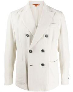 Двубортный пиджак узкого кроя Barena