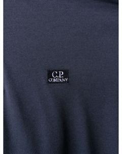 Рубашка поло с вышитым логотипом C.p. company