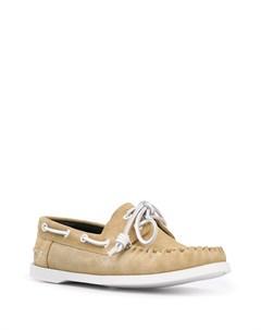 Топсайдеры на шнуровке Loewe