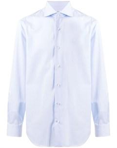 Однотонная рубашка на пуговицах Barba