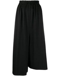 Широкие брюки асимметричного кроя Y's