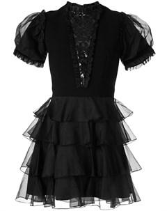 Платье Chapter с оборками Macgraw