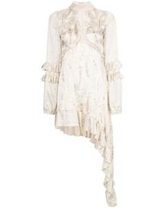 Платье Liora с оборками Alexis