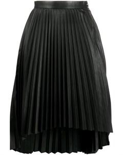 Плиссированная юбка миди Isaac sellam experience