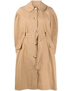 Пальто с поясом Simone rocha