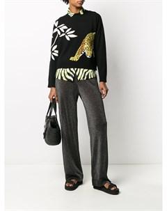 Трикотажные брюки с блестками Alanui