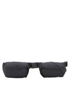 Двойная поясная сумка Maison kitsuné