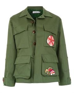 Куртка Army с нашивками Isolda