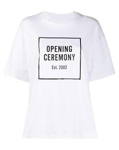 Футболка свободного кроя с логотипом Opening ceremony