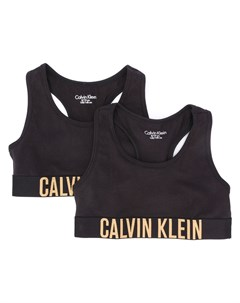 спортивный бюстгальтер с логотипом Calvin klein kids