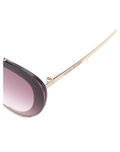 Солнцезащитные очки в оправе кошачий глаз с градиентными линзами Alexander mcqueen eyewear