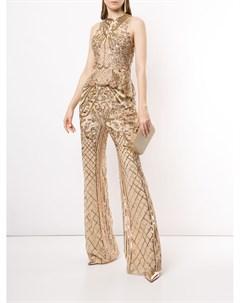 Расклешенные брюки с пайетками Zuhair murad