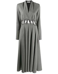 Плиссированное платье Black Rose Litkovskaya