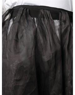 Прозрачная юбка макси Litkovskaya