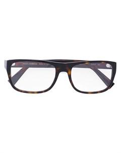 Очки в квадратной оправе Dolce & gabbana eyewear