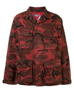 Куртка оверсайз с камуфляжным принтом Adaptation