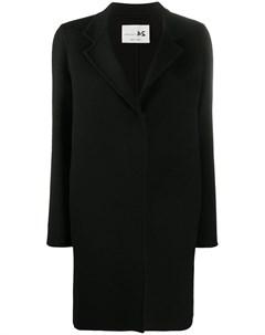 Однобортное пальто средней длины Manzoni 24
