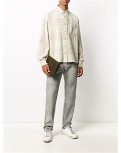 Вощеные джинсы John elliott
