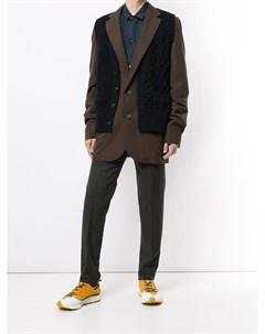 Комбинированный пиджак Kolor