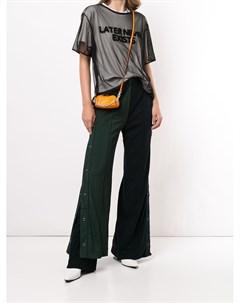 Многослойные спортивные брюки в стиле колор блок Maison mihara yasuhiro
