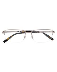 очки в прямоугольной оправе Montblanc