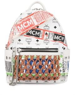 рюкзак Stark с принтом Mcm