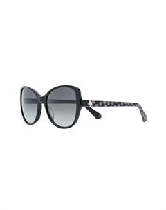 Солнцезащитные очки в оправе кошачий глаз Kate spade