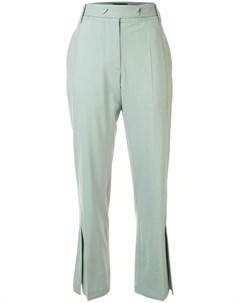 Расклешенные брюки с разрезами Eudon choi