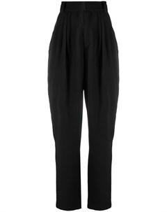Зауженные брюки с завышенной талией Alessandra rich