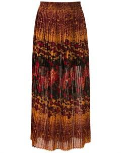Плиссированная юбка миди Bizet À la garçonne