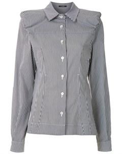 Рубашка со структурированными плечами À la garçonne