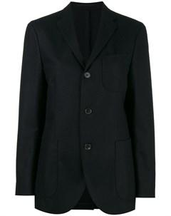 Фланелевый однобортный пиджак Holiday