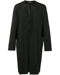 Пальто без воротника Gambit Curieux
