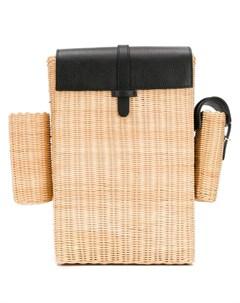 соломенный рюкзак Natasha zinko
