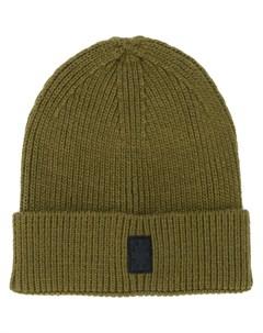 шапка бини с нашивкой логотипом Cross Marcelo burlon county of milan