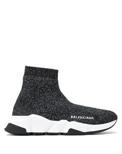 Трикотажные кроссовки Speed Balenciaga