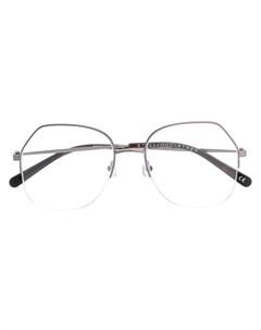 Солнцезащитные очки в полуоправе Stella mccartney eyewear