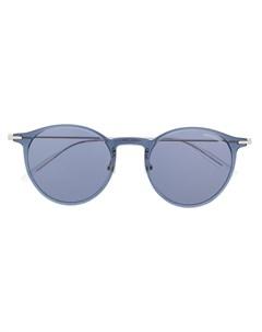 солнцезащитные очки в прозрачной оправе Montblanc