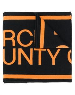 шарф с логотипом Marcelo burlon county of milan