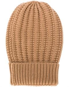 шапка бини фактурной вязки Eleventy