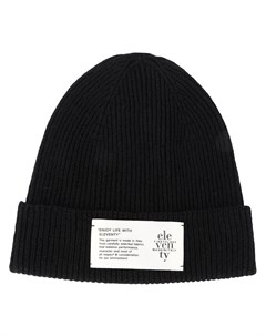 шапка бини с нашивкой логотипом Eleventy