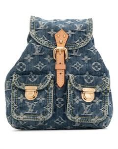 Джинсовый рюкзак Sac A Dos PM 2006 го года Louis vuitton