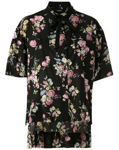 Рубашка Bertha с цветочным принтом À la garçonne