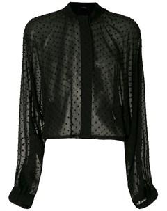 Рубашка Elysee с широкими рукавами À la garçonne