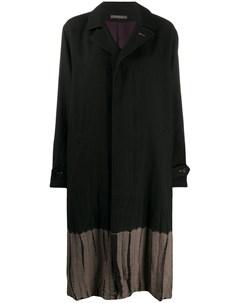 Двухцветное пальто Suzusan