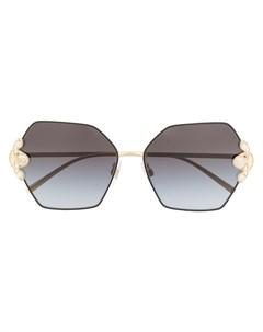 Солнцезащитные очки DG2253H в оправе геометричной формы Dolce & gabbana eyewear