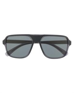 Солнцезащитные очки в массивной оправе Dolce & gabbana eyewear