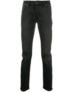 Узкие джинсы с эффектом потертости Neuw