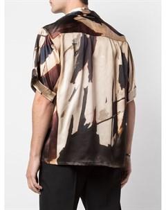 Рубашка свободного кроя с принтом Enfants riches déprimés